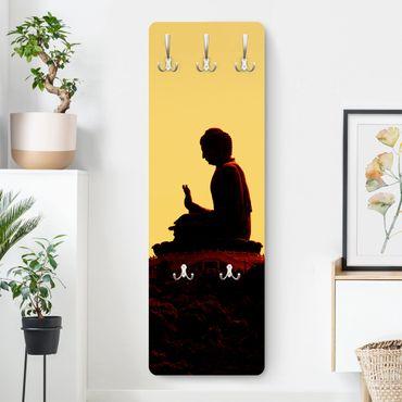 Garderobe - Resting Buddha - Gelb