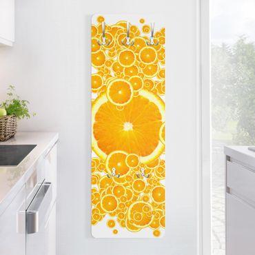 Garderobe - Retro Orange Pattern