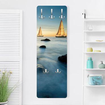 Garderobe - Segelschiffe im Ozean - Maritim