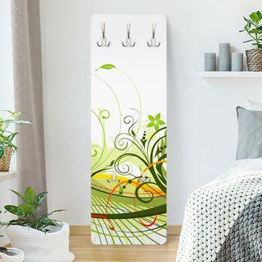Garderobe - September - Weiß Grün
