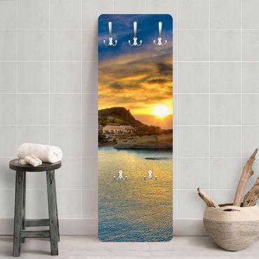 Garderobe - Sonnenuntergang über Korfu - Modern