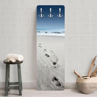 Garderobe - Spuren im Sand - Maritim