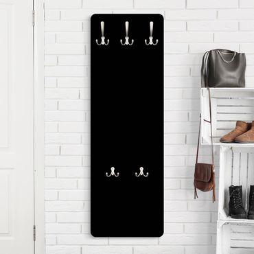 Garderobe - Tiefschwarz