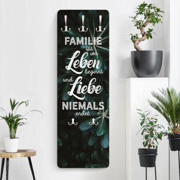 Garderobe - Tropical - Familie ist