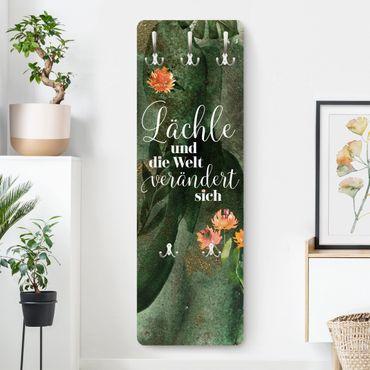 Garderobe - Tropical - Lächle und