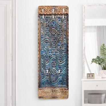 Garderobe - Tür mit marokkanischer Schnitzkunst