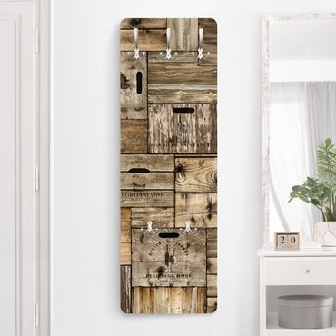 Garderobe - Vintage Holzkisten