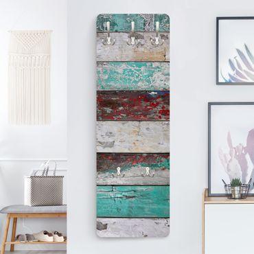 Garderobe Vintage - Maritime Shelves - Blau