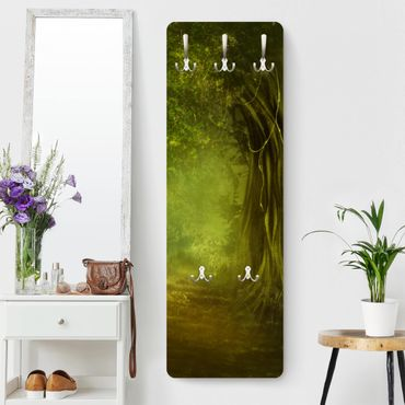 Garderobe - Waldspaziergang - Grün
