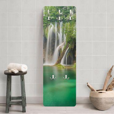 Garderobe - Wasserfall Plitvicer Seen