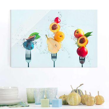 Glasbild - Fruchtsalat - Querformat 3:2