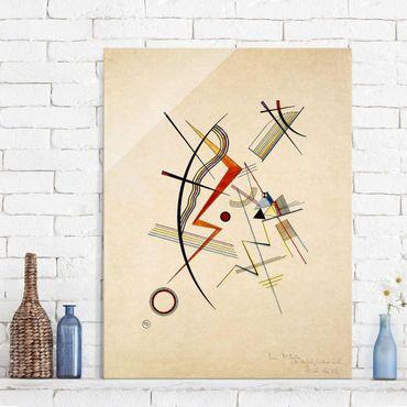 Glasbild - Kunstdruck Wassily Kandinsky - Jahresgabe für die Kandinsky-Gesellschaft - Expressionismus Hoch 3:4