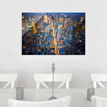 Glasbild - Midtown Manhattan - Quer 3:2