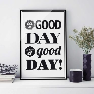 Glasbild - No.EV25 A Good Day II - Hoch 2:3