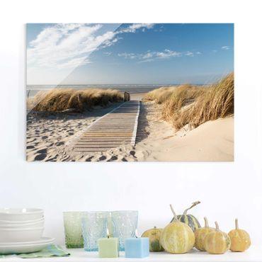 Glasbild - Ostsee Strand - Quer 3:2