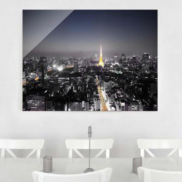 Glasbild - Tokio - Quer 4:3