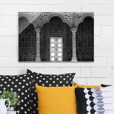 Glasbild - White Door - Quer 3:2