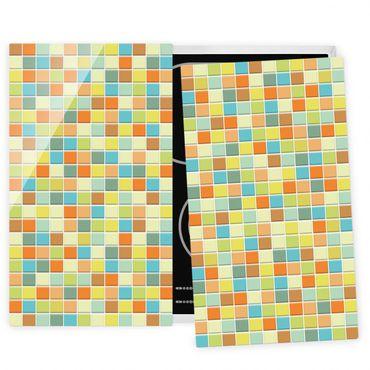 Herdabdeckplatte Glas - Mosaikfliesen Sommerset
