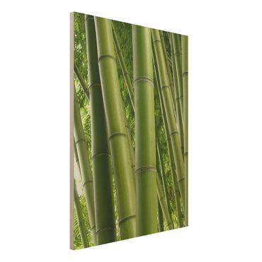 Holzbild - Bamboo Trees No.1 - Hoch 3:4