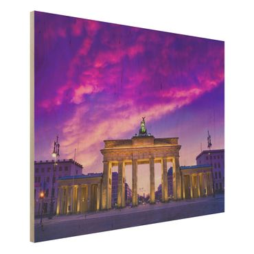 Holzbild Berlin - Das ist Berlin! - Quer 4:3
