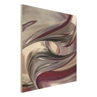 Holzbild - Illusionary - Quadrat 1:1