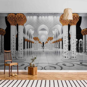 Metallic Tapete  - In der Moschee