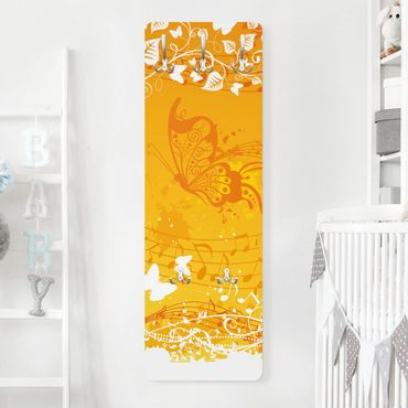 Kindergarderobe - Autumn - Kinderzimmer Gelb
