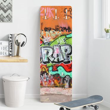 Kindergarderobe - Graffiti - Kinderzimmer
