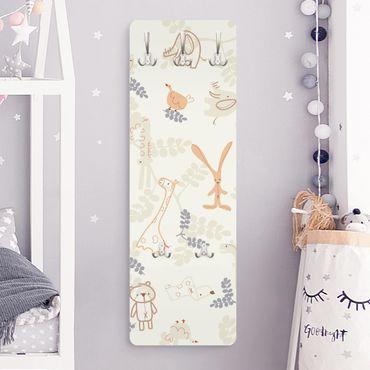 Kindergarderobe - Pastel Plushies - Kinderzimmer