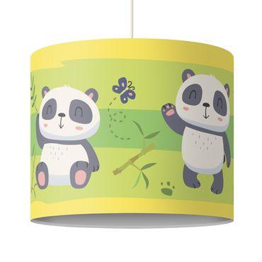 Hängelampe - Süße Pandabären