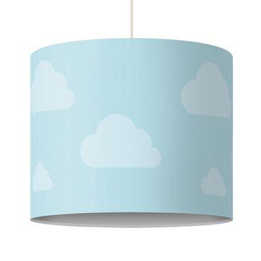Hängelampe - Wolken Blau