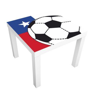 Beistelltisch - Fußball Chile