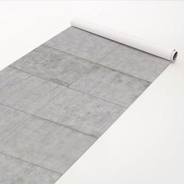 Klebefolie Betonoptik - Beton Ziegeloptik grau - Betonfolie