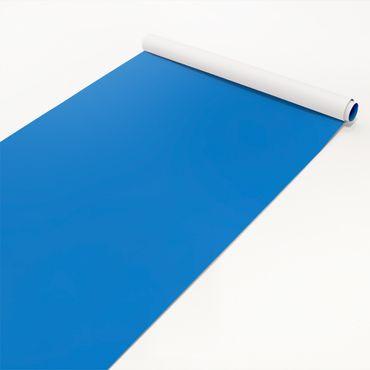 Klebefolie blau einfarbig - Enzian - Folie selbstklebend mittelblau