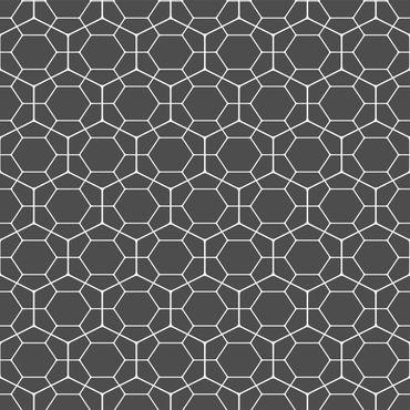 Klebefolie - Geometrisches Diamant Wabenmuster anthrazit - Selbstklebende Folie