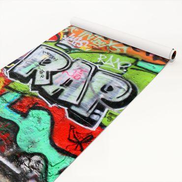 Klebefolie Kinderzimmer - Graffiti Wall - Selbstklebefolie