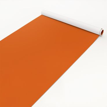 Klebefolie orange rot einfarbig - Mohn - Selbstklebende Folie