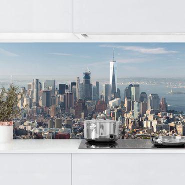 Küchenrückwand - Blick vom Empire State Building
