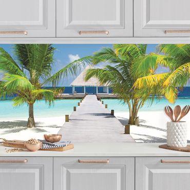 Küchenrückwand - Catwalk to Paradise