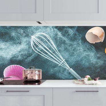 Küchenrückwand - Chaos in der Küche