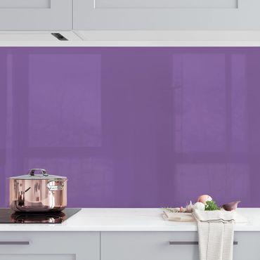 Küchenrückwand - Flieder
