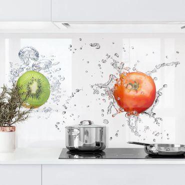Küchenrückwand - Frische Früchte Komposition