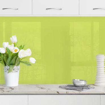 Küchenrückwand - Frühlingsgrün