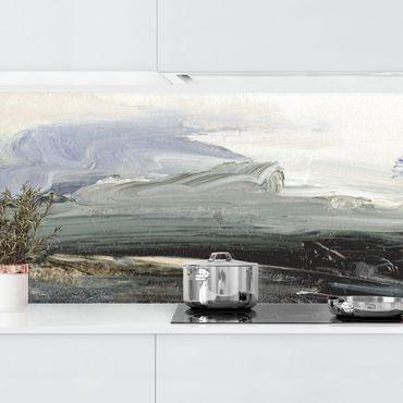 Küchenrückwand - Horizont bei Tagesanbruch