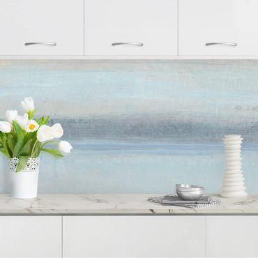 Küchenrückwand - Horizont über Blau I