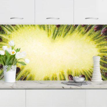 Küchenrückwand - Kiwi Heart