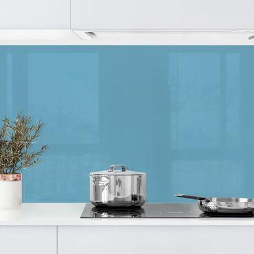Küchenrückwand - Meerblau