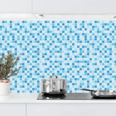 Küchenrückwand - Mosaikfliesen Meeresrauschen