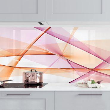 Küchenrückwand - Mystical Waves