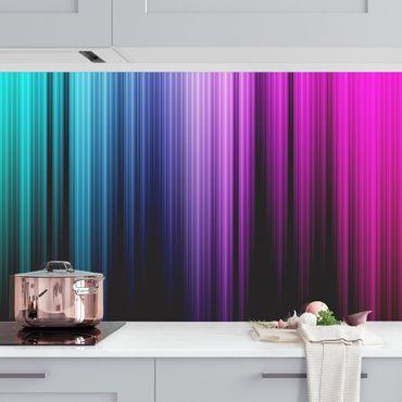 Küchenrückwand - Rainbow Display